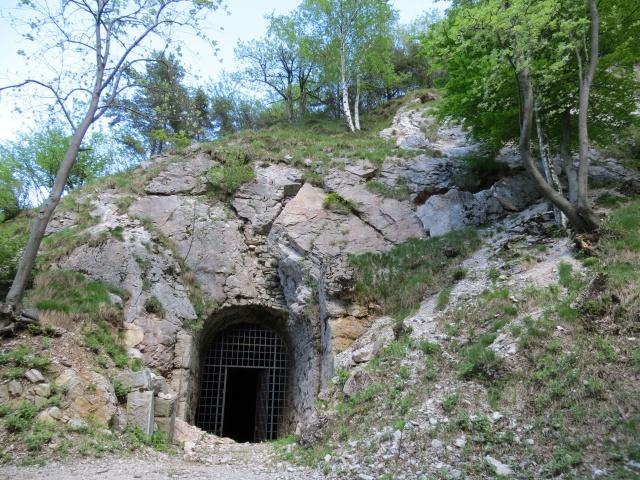 Ingresso del Forte di Vallalta