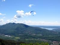 Panorama dal Monte Crocione: Campo dei Fiori