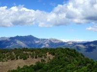 Panorama dal Monte Crocione: Monte Zeda e Piancavallo