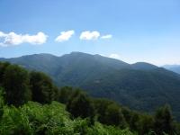 Monte Lema Maggiore dalla strada per La Forcola