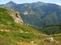 Panorama su Monte Tamaro, Bassa di Indemini e Monte Gradiccioli