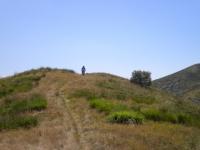 In direzione del Monte Paglione