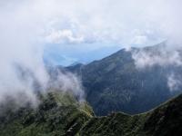 Panorama in prossimità della Capanna Tamaro sul Lago di Lugano