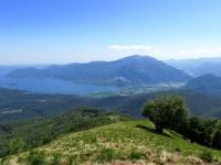 Panorama dalla vetta del Todun