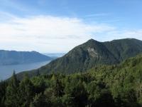 La sommità del Monte Morissolo