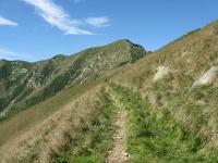 Ultimo tratto ciclabile di sentiero in direzione del Monte Zeda
