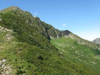 Salita a piedi alla vetta dello Zeda - Panorama