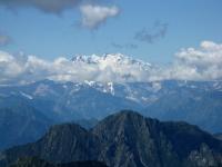 Panorama dallo Zeda - Il Gruppo del Monte Rosa