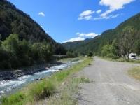 Da Cesana Torinese a Bousson costeggiando il torrente Ripa