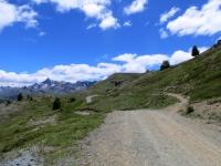 Dal Colle Bercia in direzione del Col Saurel