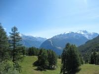 "Moosalp - Panorama sui ""4.000"" (Weissmies, Fletschhorn, Massiccio del Mischabel)"