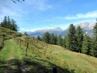 In direzione della Bürchner Alp