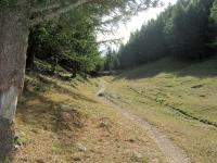 Il sentiero che parte dalla Tschorralp