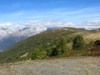 Salita al Gibidumpass - Panorama sul Gibidum