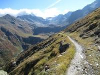 Lungo il sentiero che risale la Nanztal