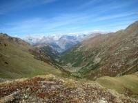 Panoramica della Nanztal dall'alpeggio di Obers Fulmoos