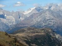 Il Gibidumpass dall'alpeggio di Obers Fulmoos