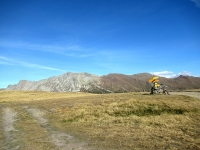 Gibidumpass - Panorama sulla catena di rilievi che divide il Sempione dalla Nanztal