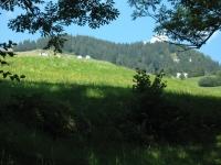 Salita agli alpeggi - panorama