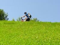 Salita verso gli alpeggi di Nara - particolare