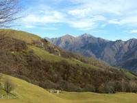 In direzione di San Calimero - panorama