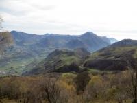Panorama sulla Valsassina da San Calimero