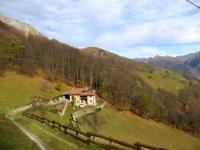 Salita all'Alpe Cova - panorama
