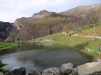 Laghetto presso l'Alpe Cova