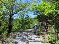 Inizio della salita sterrata per il Monte Pracaban