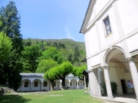 Il complesso del Sacro Monte di Ghiffa