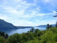 Panorama sul Lago Maggiore dal Sacro Monte della SS Trinità di Ghiffa