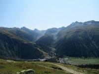 Panorama sulla Gerital salendo in quota in direzione del Grimselpass