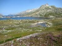 Grimselpass, Totesee, in primo piano la Cresta Gärstenhörner (3.184)