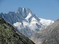Il Lauteraarhorn (4.042) ed i suoi ghiacciai
