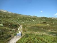 Lungo il sentiero in direzione di Unnerbrunnji