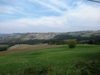 Panorama sui rilievi collinari dell'Oltrepo