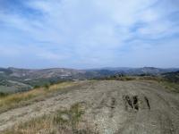 In direzione del Monte Fratello - Panorama