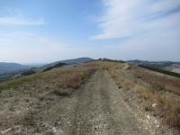 In direzione del Monte Fratello