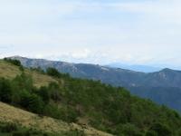 Panorama su Monte Mottarone e Monte Falò