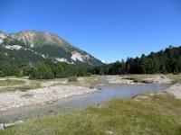 Tra l'Alpe Pertusio e l'Alpe Gana, particolare sul torrente Brenno