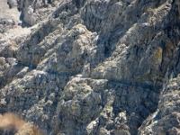 La ferrata degli alpini che taglia il versante della Punta Charrà