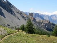 Lungo il sentiero proveniente dal Col des Acles