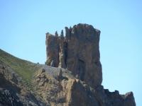 Caratteristica formazione rocciosa all'interno della Rocher de Barrabas