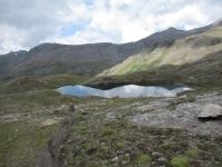 Laghetti alpini ai margini del Passo Invergneux (laghetti Doreire)