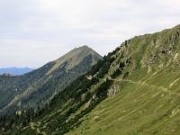 Il traverso che collega il Corno del Gesero con il Passo San Jorio