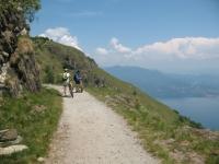 Sterrato in direzione del Monte Morissolo