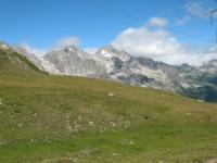 Rilievi della Val Bedretto dal Passo San Giacomo