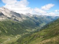 Panorama sulla Val Bedretto