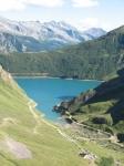Lago di Morasco in discesa dalla Baettelmatt Alp