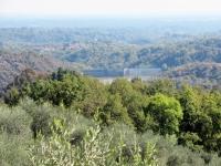 La diga del Lago di Ravasanella